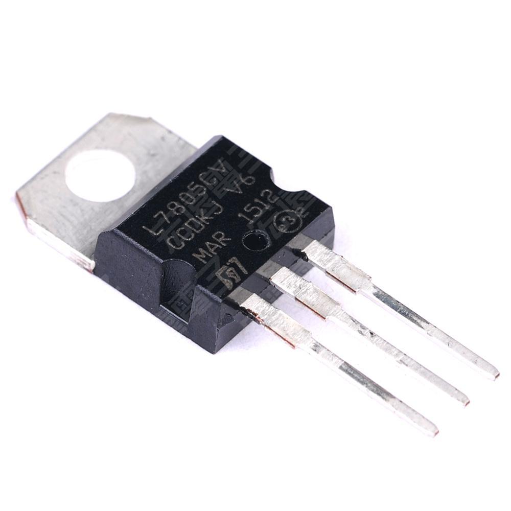 Lm7805 Voltage Regulator Geek Electronics Discrete