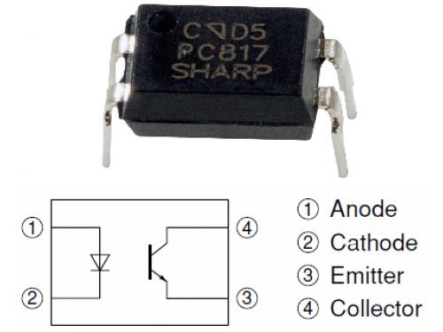 Pc817 Optoisolator Geek Electronics