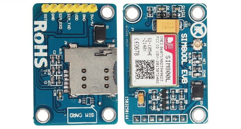 SIM800L GSM MODULE 5V version V2.0